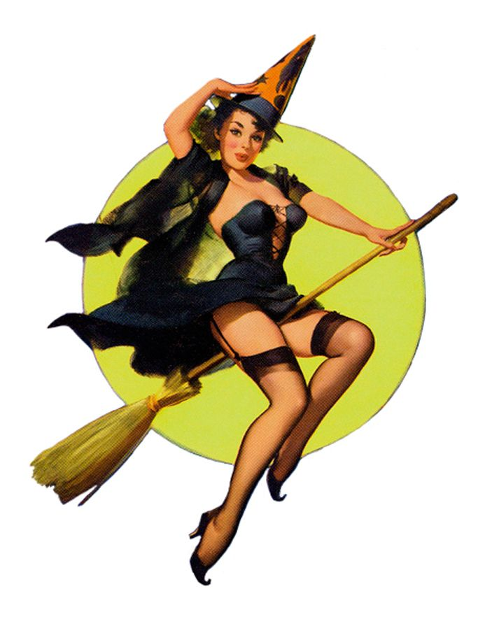 Pin Up Girls witch | ... , Pin-up, Traditional, Renaissance and Risque. Which witch is which