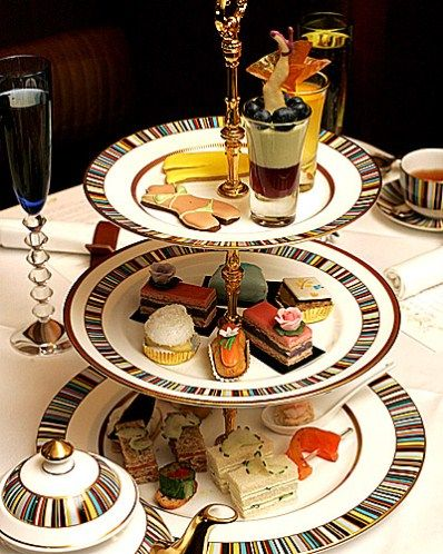 Afternoon tea at the Ritz in London