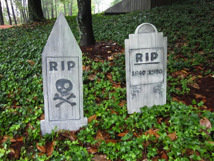 Find this Pin and more on Halloween Graves, Tombstones and Cemetery Ideas.