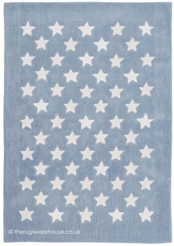Dream Stars Blue Rug