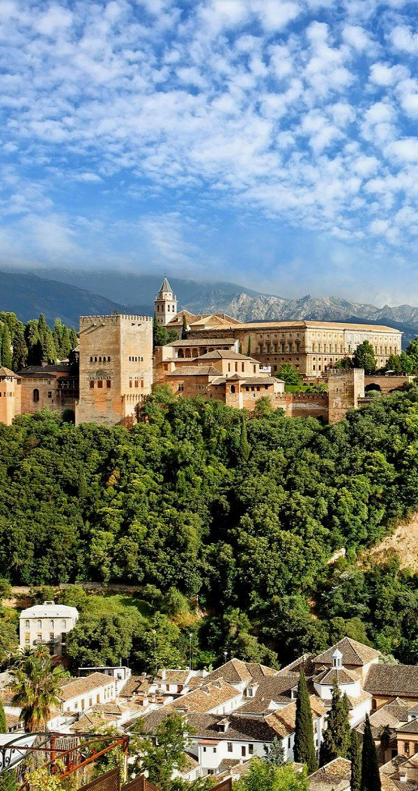 Wonderful Granada, Spain. One of my favorite European cities! I have thought of…