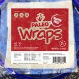 Paleo Wraps are a great way to replace those carb filled flour or corn tortillas you may have been eating. Paleo Wraps are Raw, Vegan, Starch Free, Gluten Free, Grain Free, Yeast Free, Soy Free, GMO Free, Salt Free (No Added Salt) Low Carb and best of all delicious. Paleo Wraps contain two simple ingredients:  *Coconut Meat, and *Coconut Water (*Derived From Organic Coconuts)