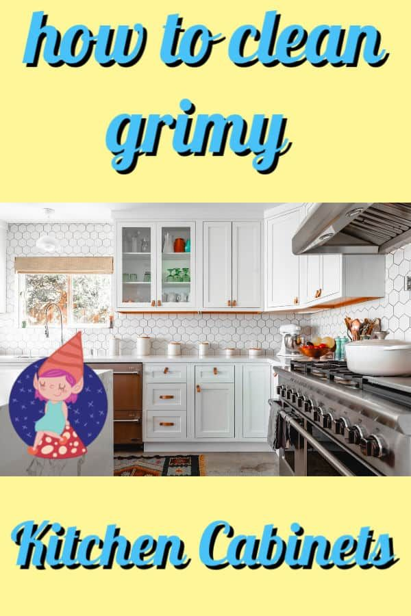 The Best Way To Clean Your Kitchen Cabinets Diy Cleaning Recipe Clean Kitchen Cabinets Kitchen Cabinets Cleaning Cabinets