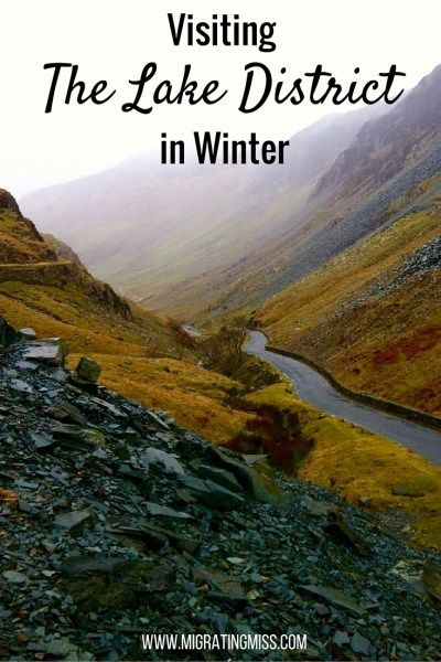 Want to go to Lake District but scared of the crowd? Simple - go in the winter!