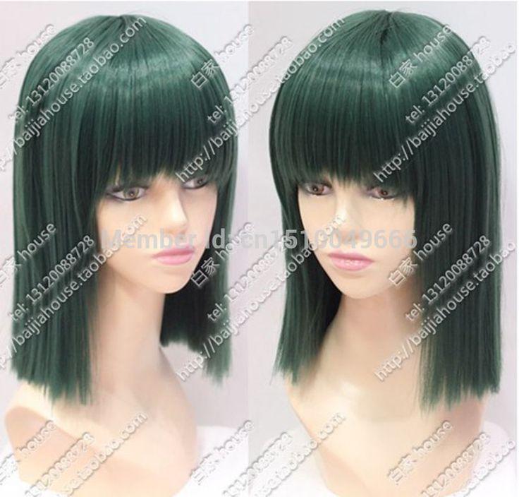 YJ6258S>>>>.>>> короткие новый стиль темно-зеленые волосы парики для женщин