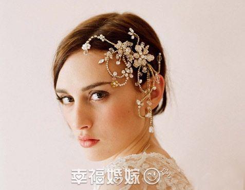 bridal headwear, beading headwear, beautiful headwear, flora headwear