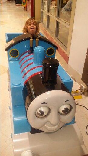 Having fun with Thomas