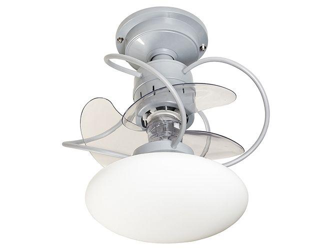 Ventilador de Teto Residencial Pequeno Com Lustre Treviso Atenas Branco (Pás Reduzidas). Peça já o Seu (11) 2021-6118