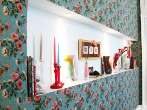 Tecido - Utilizar na decoração das paredes? - Decorar Ideias