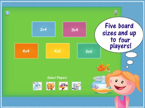 Preposition Pets ($1.99) Now there is a fun way to practice prepositions while playing the classic game of memory. Silly, colorful animals are used to demonstrate sixteen prepositions with four game boards. Users choose which prepositions to work on as well from four different board sizes. Up to four players can compete to see who can score the most matches and win the game. Settings include the option of audio descriptions or text below images of the prepositions.