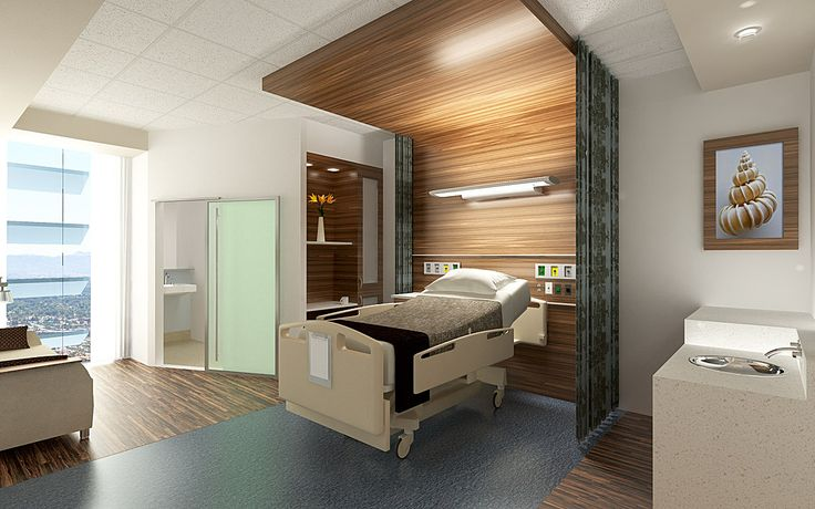 patient room   fabric changed to create tent effect