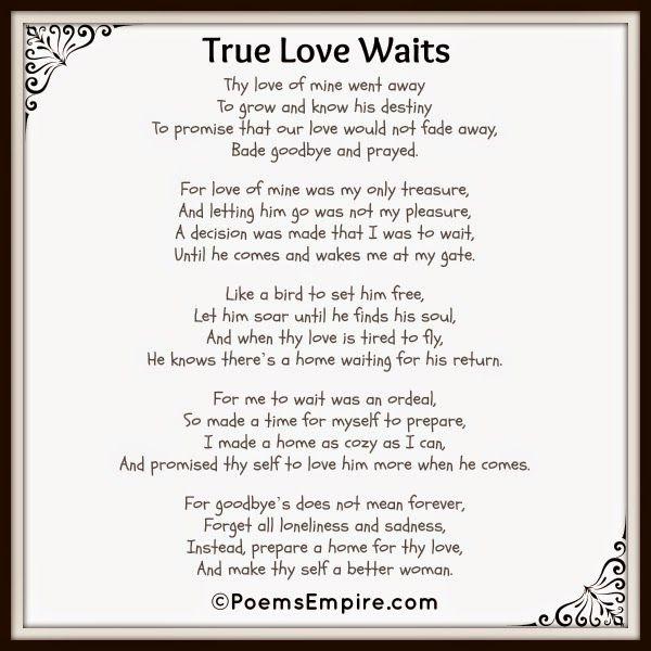Poems Empire: True Love Waits