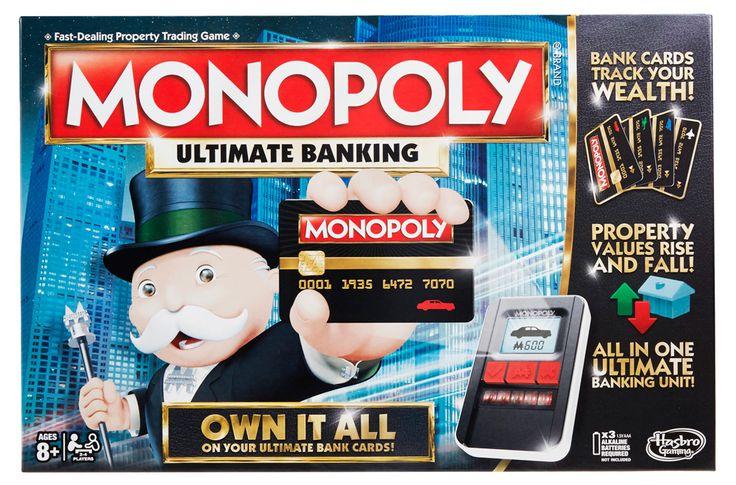 Настольная игра «Монополия с банковскими картами» Hasbro gaming