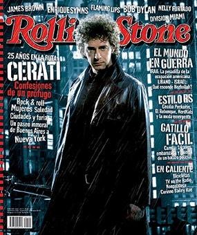 Gustavo Cerati @ Rolling Stone