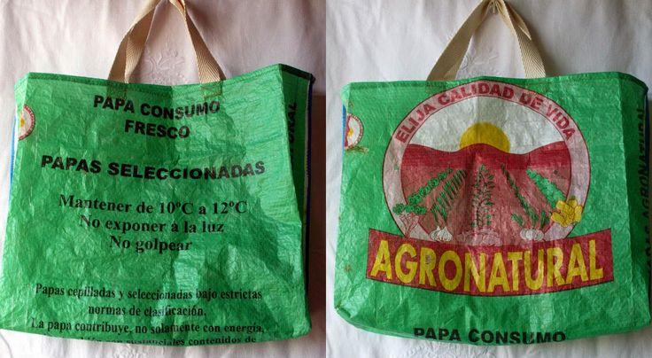 Tus Manos y las Mias: FINDE FRUGAL - Vamos de compras??? raffia bag, recycled