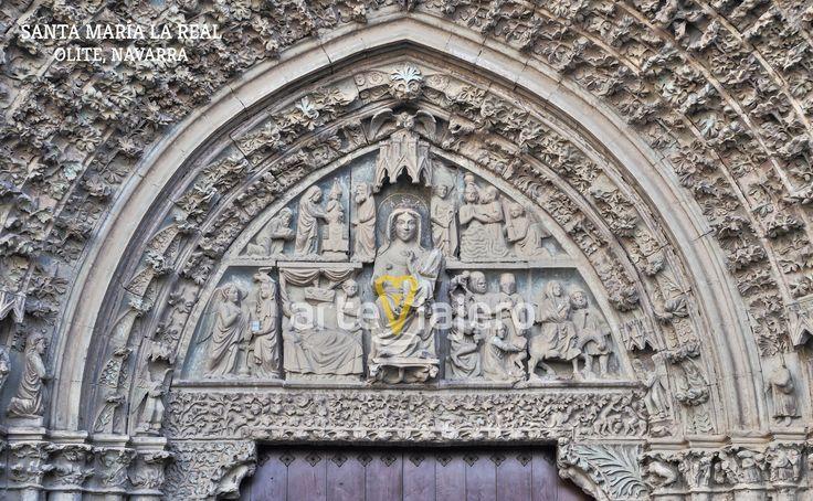 Santa María la Real, Olite, Navarra