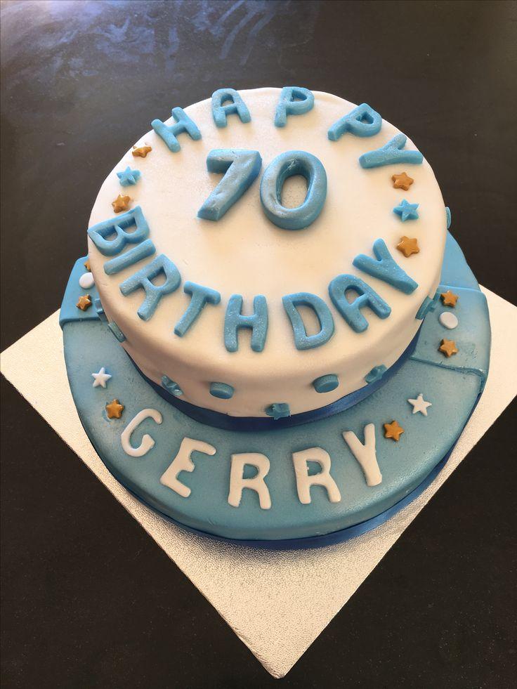 70th Birthday Cake 🎂❤️