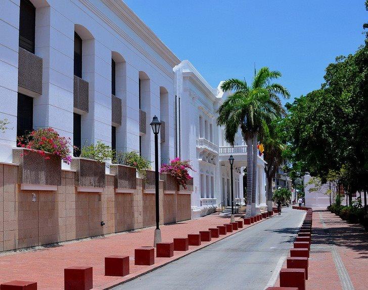 Parque de los novios, Centro Historico.