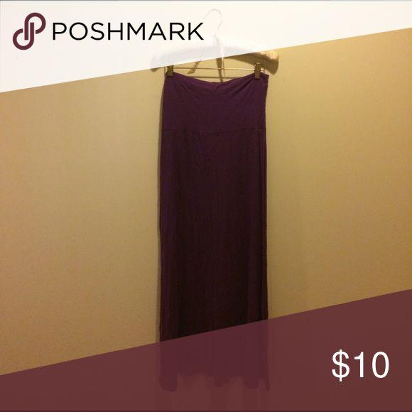 purple maxi skirt so soft! super nova Skirts Maxi