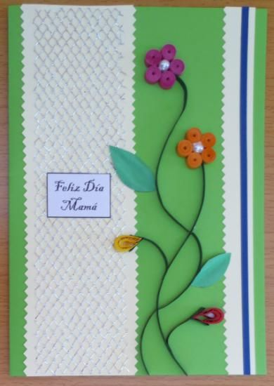 tarjetas para el dia de la madre manualidades - Buscar con Google