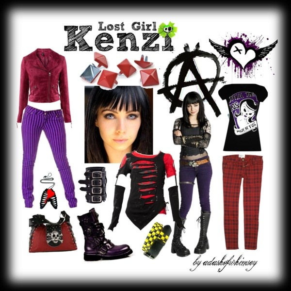 Kenzi Lost Girl Fashion Style