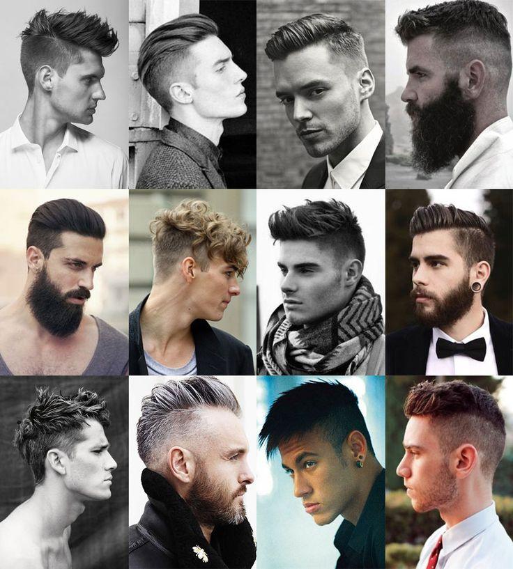 Havalı Kısa Erkek Saç Modelleri Amerikan Tıraşı Kataloğu