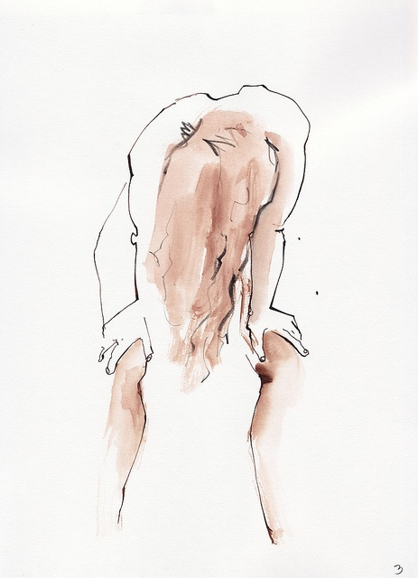 20120523 Alice 02   by James Rose   life drawing