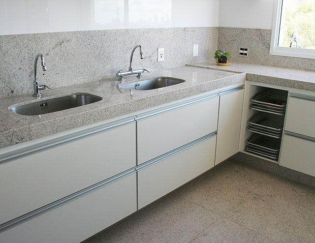 Granito Branco Siena - A Casa da Sheila: Tons de granito e mármore