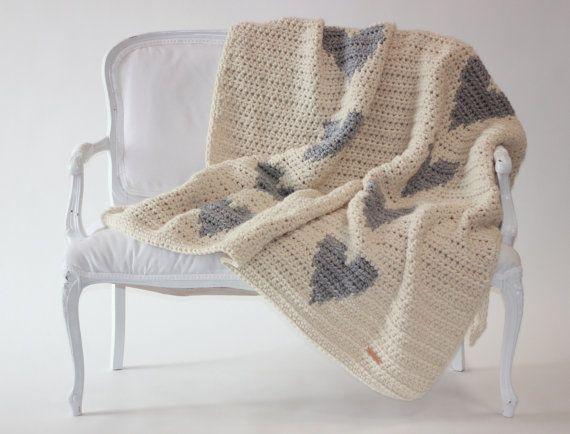 les 25 meilleures id es de la cat gorie couverture de crochet moderne sur pinterest. Black Bedroom Furniture Sets. Home Design Ideas
