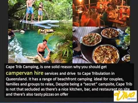 Campervan Hire -Visit Australia's Best secret camping sites-Viva Campers - YouTube