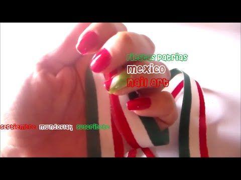 UÑAS PATRIAS nail art