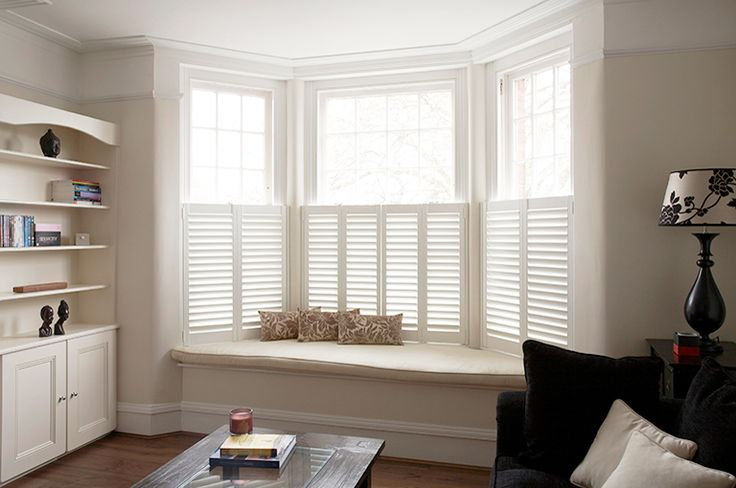 #Cafe style #shutters by #PlantationShutters London UK