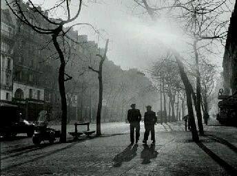 Paris, Avenue des Gobelins. 1950 Edith Gerin