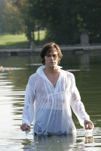 "Not a book but ""Lost in Austen"" was an amazing movie. If you were left alone with Mr. Darcy, what would you have him do?"
