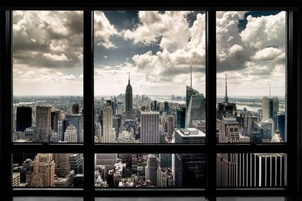 New York Window Poster | 29 Next-Level Products You Need For Your Bedroom