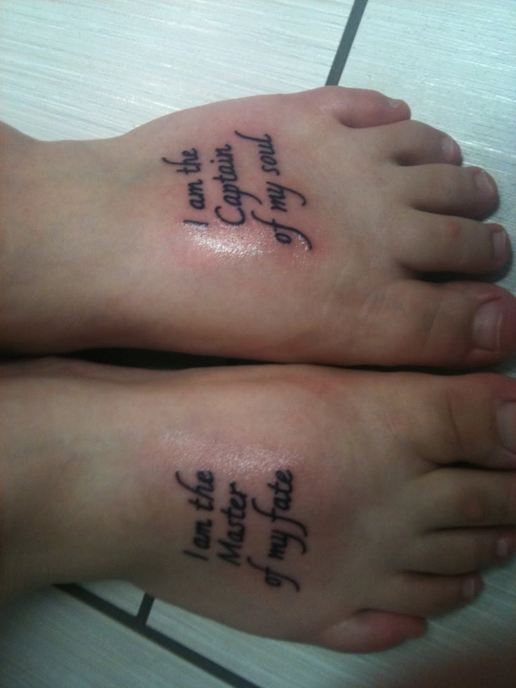 Invictus Tattoo By Pictures to Pin on Pinterest - TattoosKid