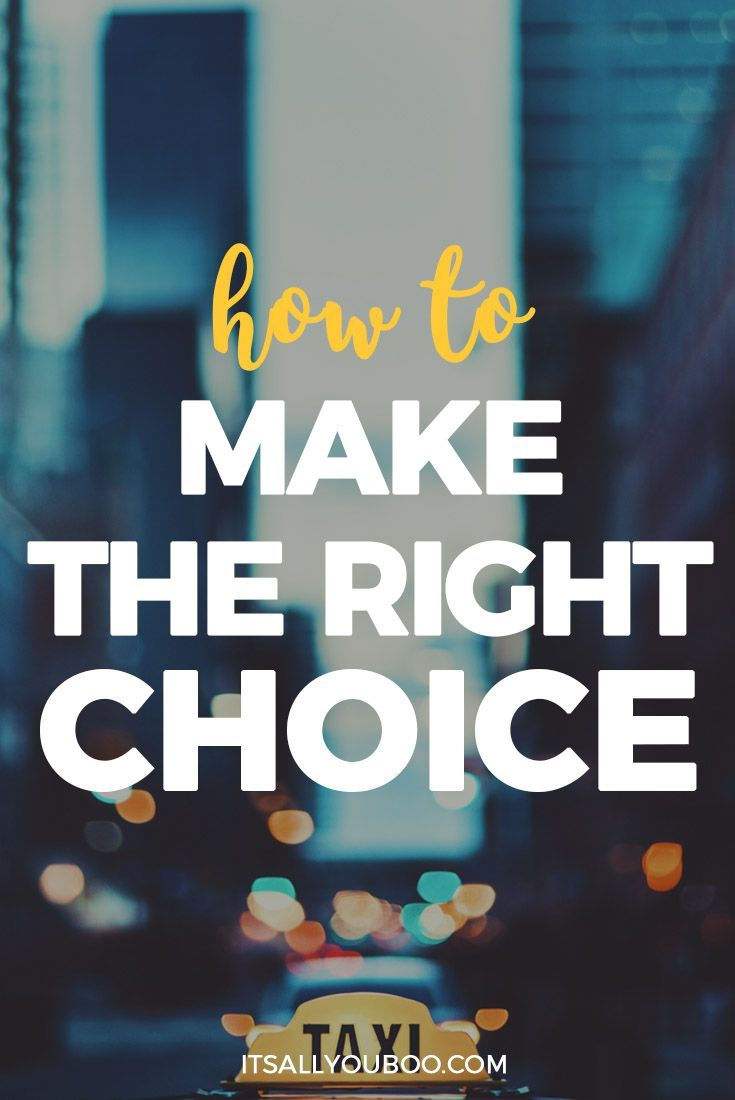 Are you the worst at making decisions? Sometimes listing the pros and cons just isn't enough to help you make the right choice. Here are 10 ways to choose the right path in life.