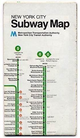 New York City Subway Map Metropolitan Transportation Authority