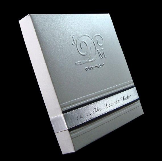 Boxed Couture Wedding Invitations   Wedding Invite   Black   White    Blacedding   Set Of 105   Deposit