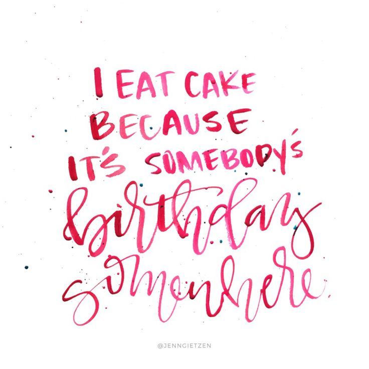 Cake Pic With Quotes : 25+ best Cake Quotes on Pinterest Pink light, Pink and ...