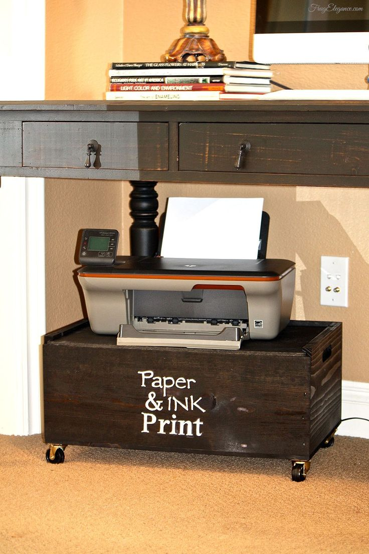 Hidden Printer Cabinet 25 Best Ideas About Office Printers On Pinterest Printers