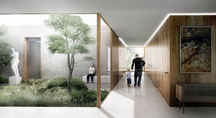 Galeria de WE architecture e CREO ARKITEKTER propõem um novo Centro Médico em…