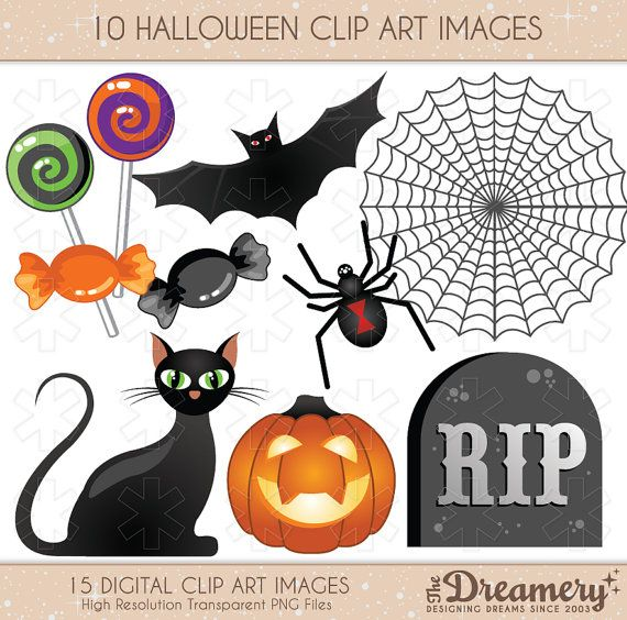 halloween clipart invitations - photo #2