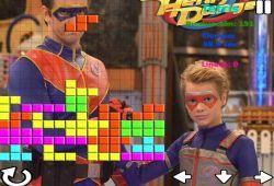 Pasa un buen rato jugando con el celular a este juego de tetris basado en la serie de Henry Danger. Como en todos los juegos de tetris debes construir una base de bloques con líneas enteras e intentar que las piezas nunca lleguen a la parte superior. ¡Buena suerte!.