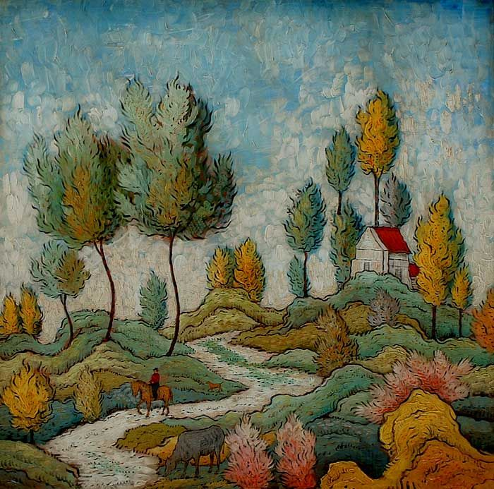 Outward Bound by Mark Drake Briscoe, English, (1964-)