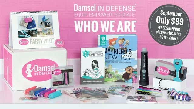 Damsel in Defense is a nationwide direct sales company with a mission to keep…