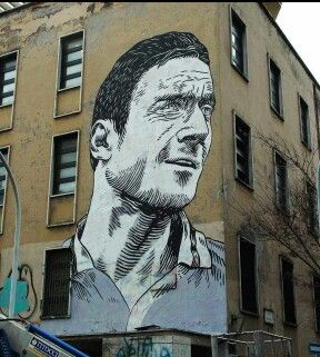Francesco Totti - As Roma - Porta Metronia - Roma