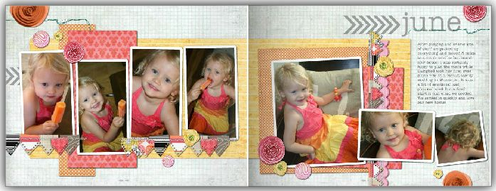 2013 Banner Love Family Album; Heritage Makers Template ID: 109463