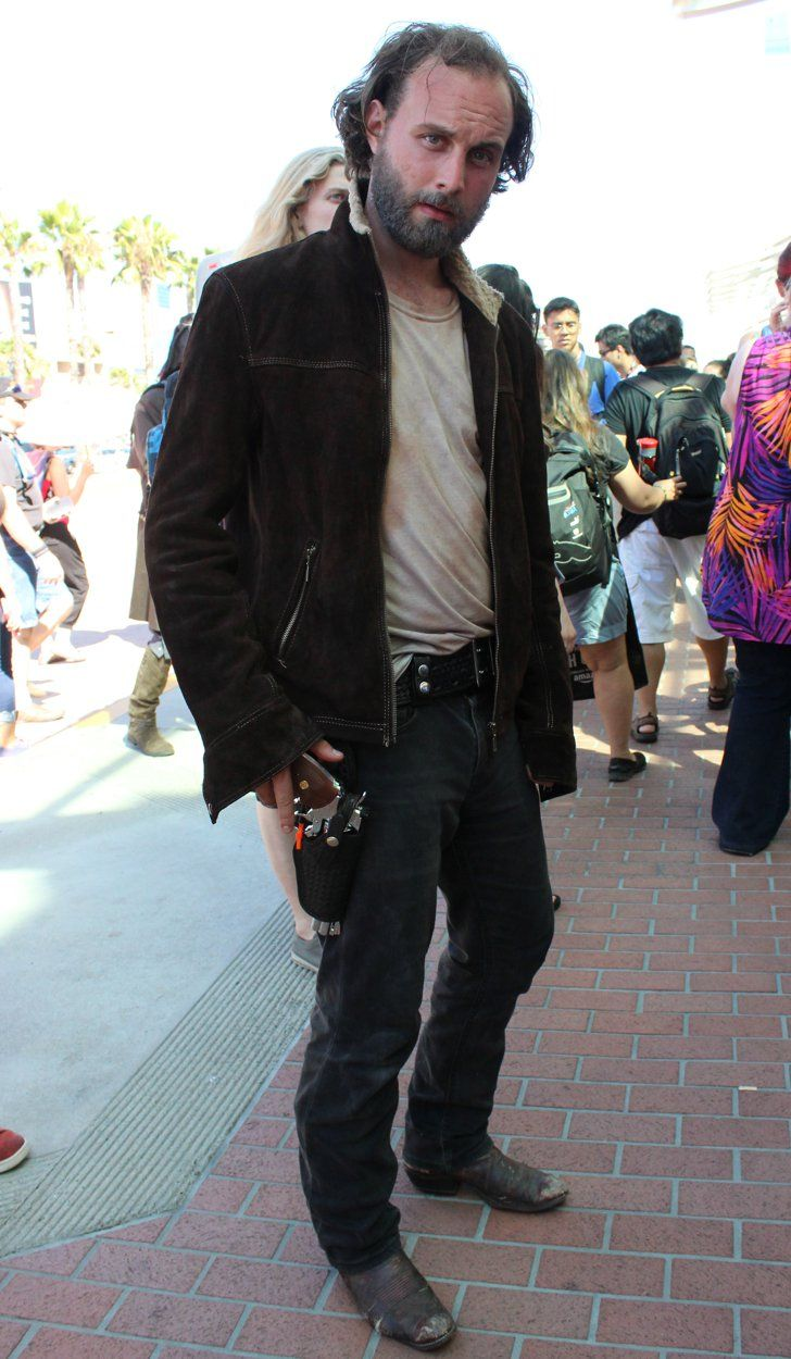 Pin for Later: We Can't Get Enough of the Creative Cosplays From Comic-Con 2016 Rick Grimes