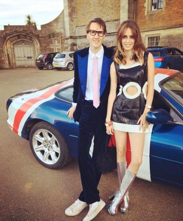 Otis Ferry and Otis's girlfriend, the Duke's middle daughter Lady Alice Manners, 22 attend Austin Powers-themed fancy dress party… at the 18th birthday party for the Marquess of Granby, heir to the Duke of Rutland. The Duchess of Rutland, 54, who hosted the party at their family seat, Belvoir Castle in Leicestershire. The Duke, incidentally, who is estranged from his wife, wore a hairnet in an attempt to be bald Austin Powers baddie Dr Evil.